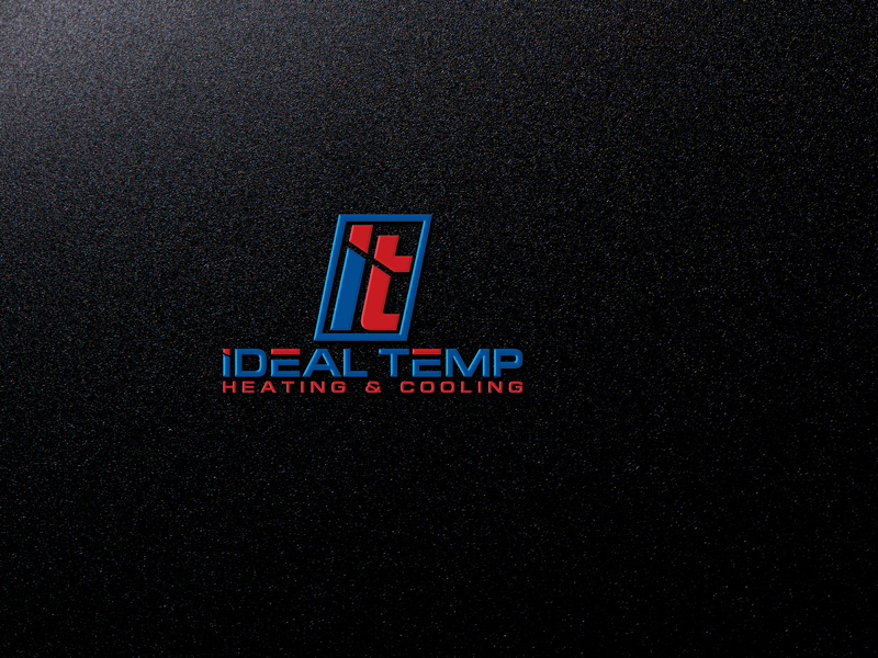 Logo Design by Private User - Entry No. 256 in the Logo Design Contest Captivating Logo Design for Ideal Temp.