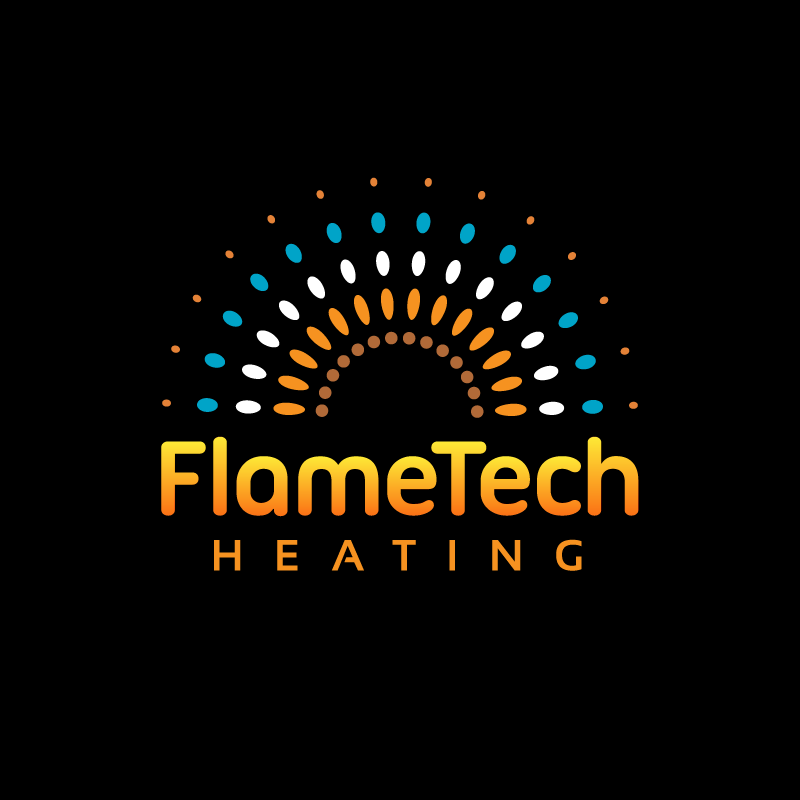 Logo Design by Laith Ibrahim - Entry No. 4 in the Logo Design Contest FlameTech Heating.