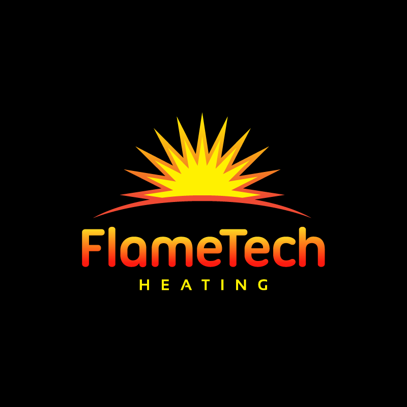 Logo Design by Laith Ibrahim - Entry No. 6 in the Logo Design Contest FlameTech Heating.