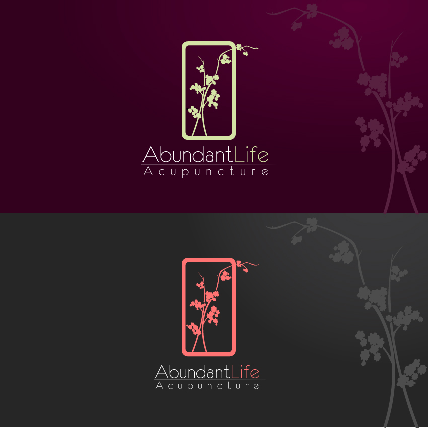 Logo Design by trav - Entry No. 153 in the Logo Design Contest abundant life acupuncture.