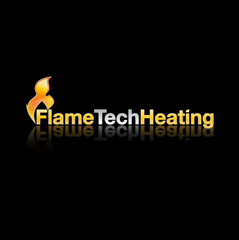 Logo Design by trav - Entry No. 8 in the Logo Design Contest FlameTech Heating.