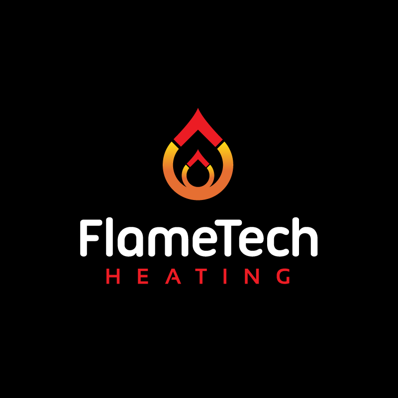 Logo Design by Laith Ibrahim - Entry No. 11 in the Logo Design Contest FlameTech Heating.