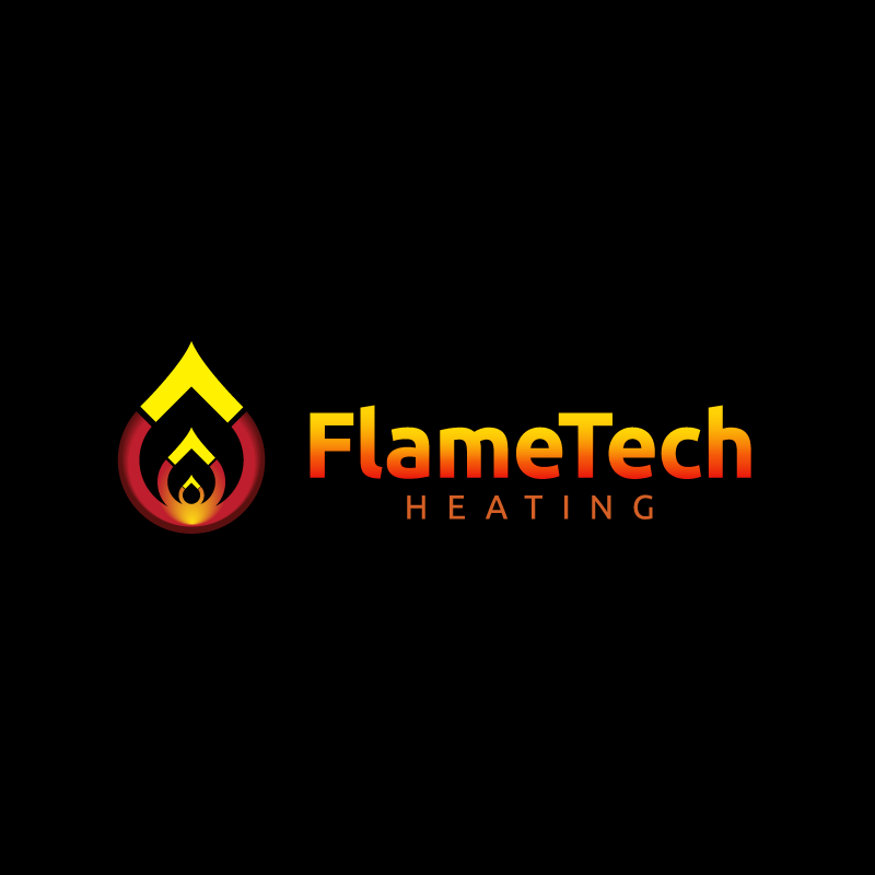 Logo Design by Laith Ibrahim - Entry No. 13 in the Logo Design Contest FlameTech Heating.