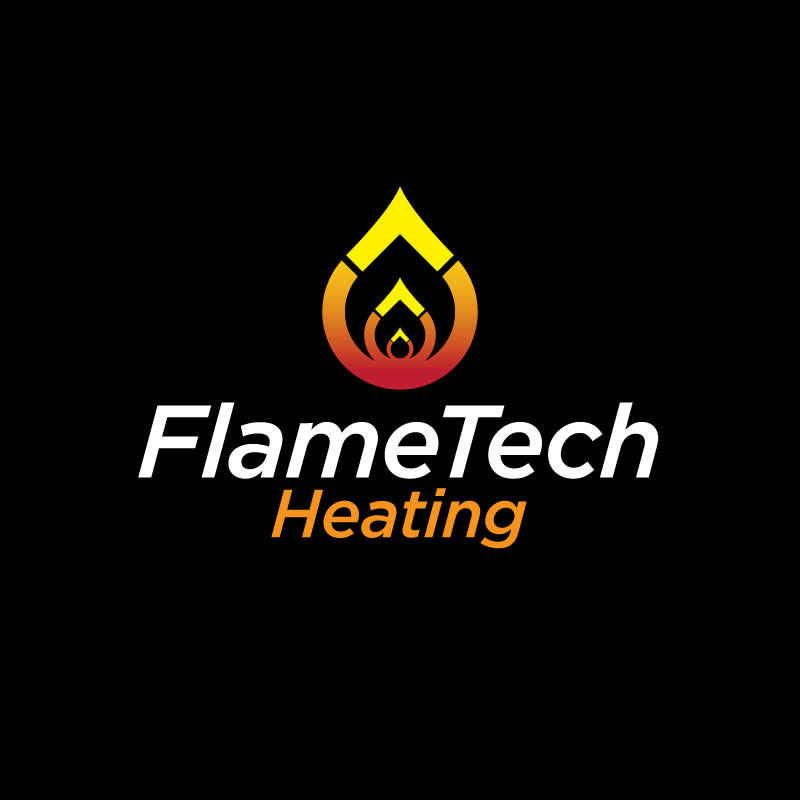 Logo Design by Laith Ibrahim - Entry No. 14 in the Logo Design Contest FlameTech Heating.