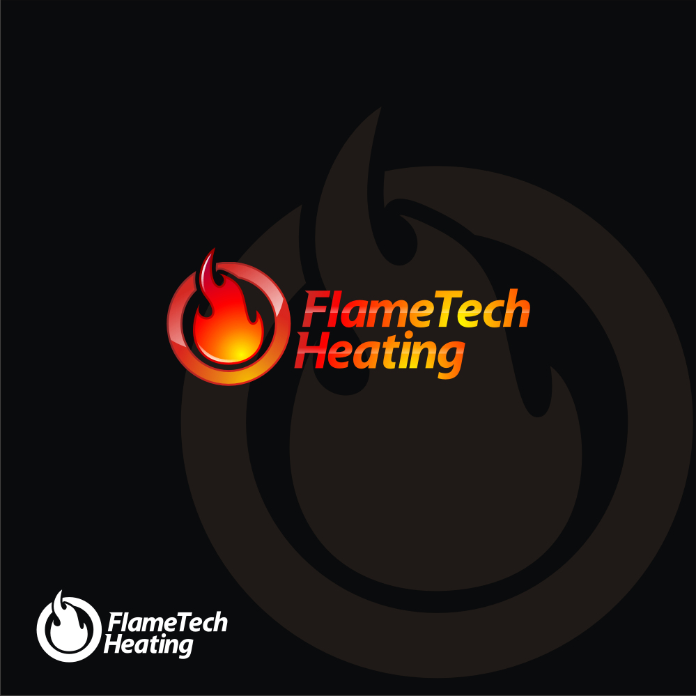 Logo Design by dewaaaa - Entry No. 17 in the Logo Design Contest FlameTech Heating.