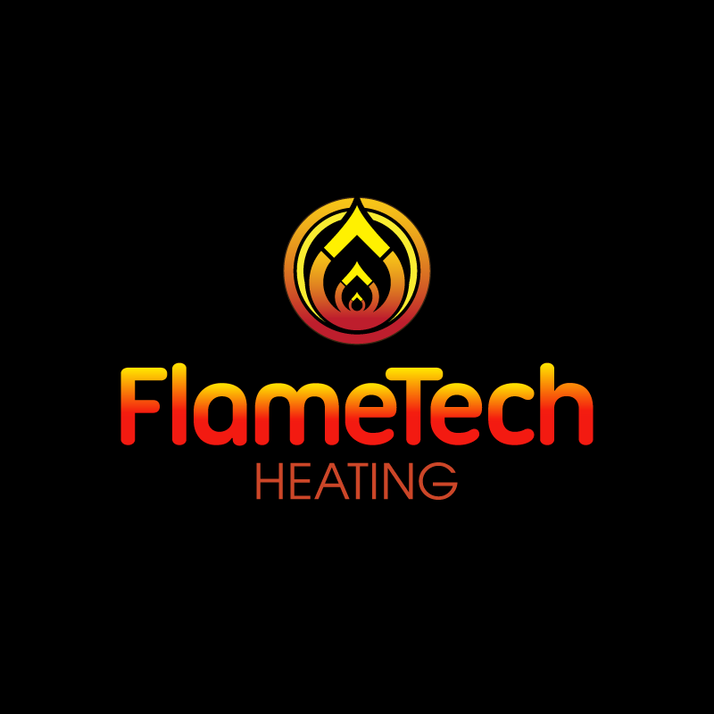 Logo Design by Laith Ibrahim - Entry No. 18 in the Logo Design Contest FlameTech Heating.