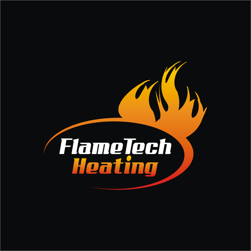 Logo Design by montoshlall - Entry No. 23 in the Logo Design Contest FlameTech Heating.