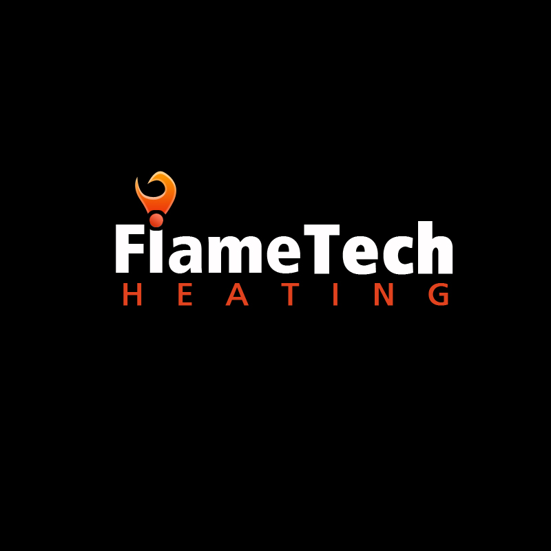 Logo Design by LoganPhoenixDesign - Entry No. 24 in the Logo Design Contest FlameTech Heating.