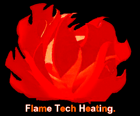 Logo Design by VAC ATV - Entry No. 26 in the Logo Design Contest FlameTech Heating.