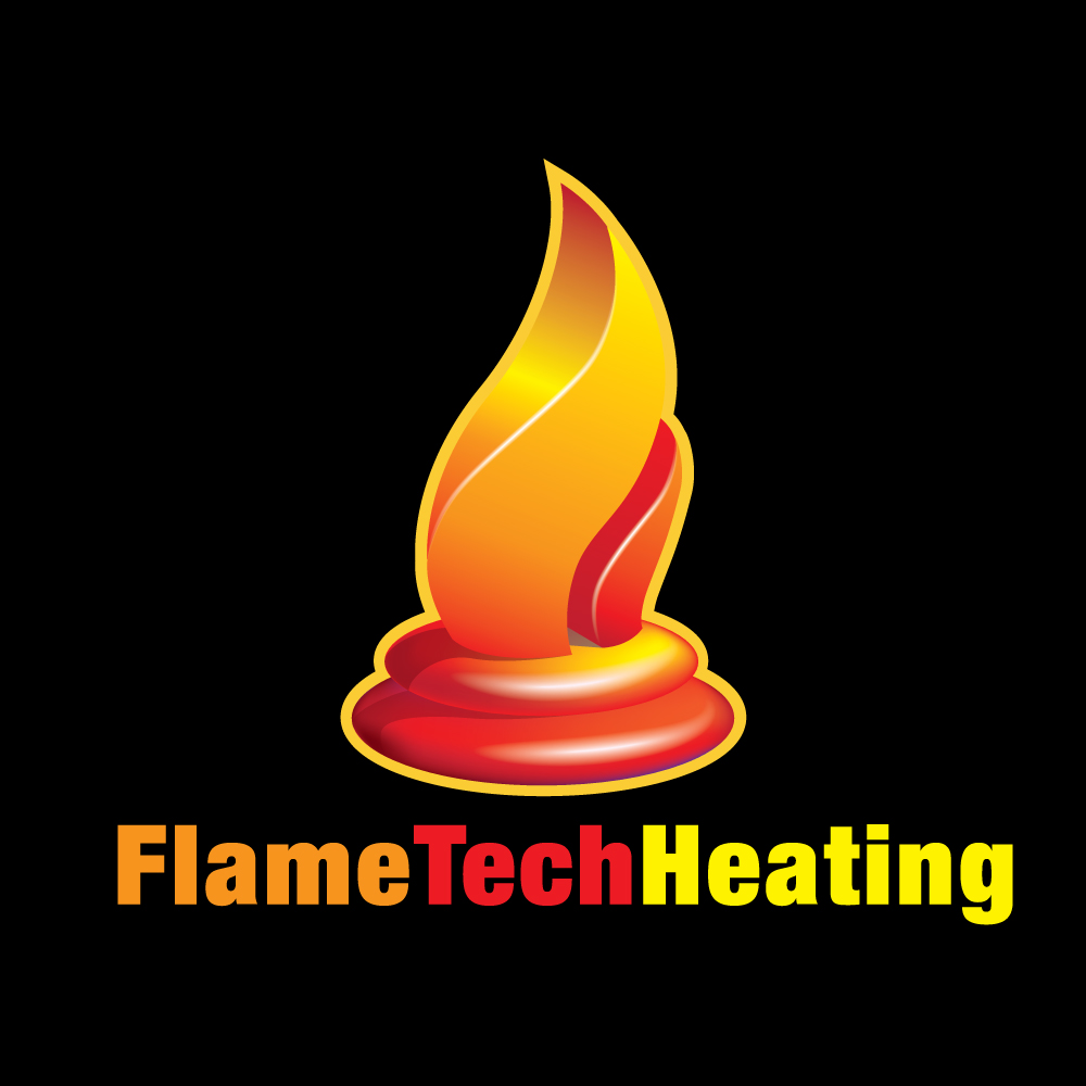 Logo Design by brendan - Entry No. 29 in the Logo Design Contest FlameTech Heating.