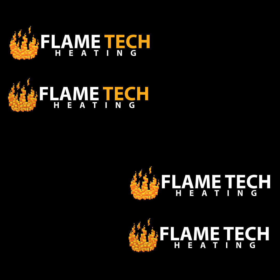 Logo Design by Ricky Frutos - Entry No. 32 in the Logo Design Contest FlameTech Heating.