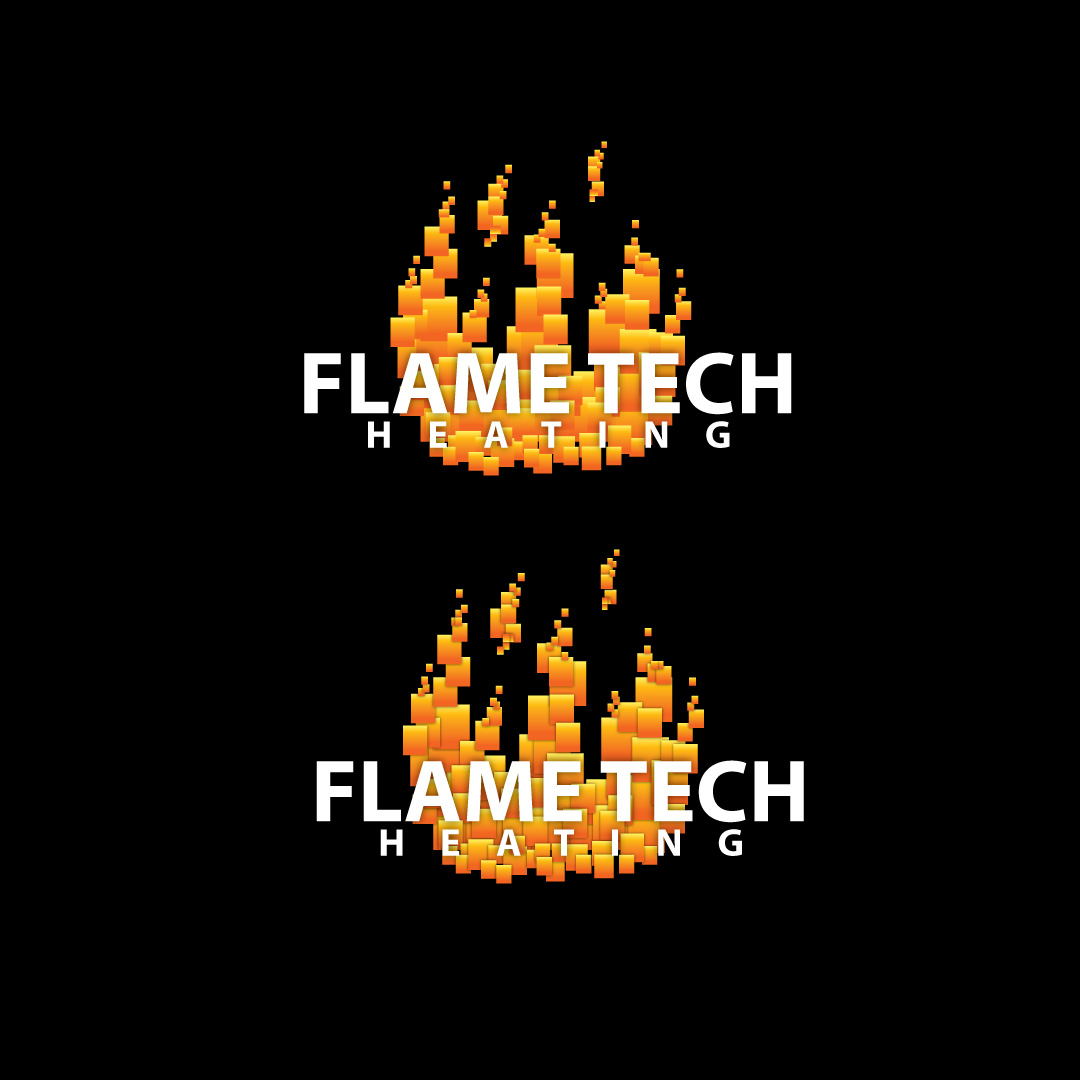 Logo Design by Ricky Frutos - Entry No. 33 in the Logo Design Contest FlameTech Heating.