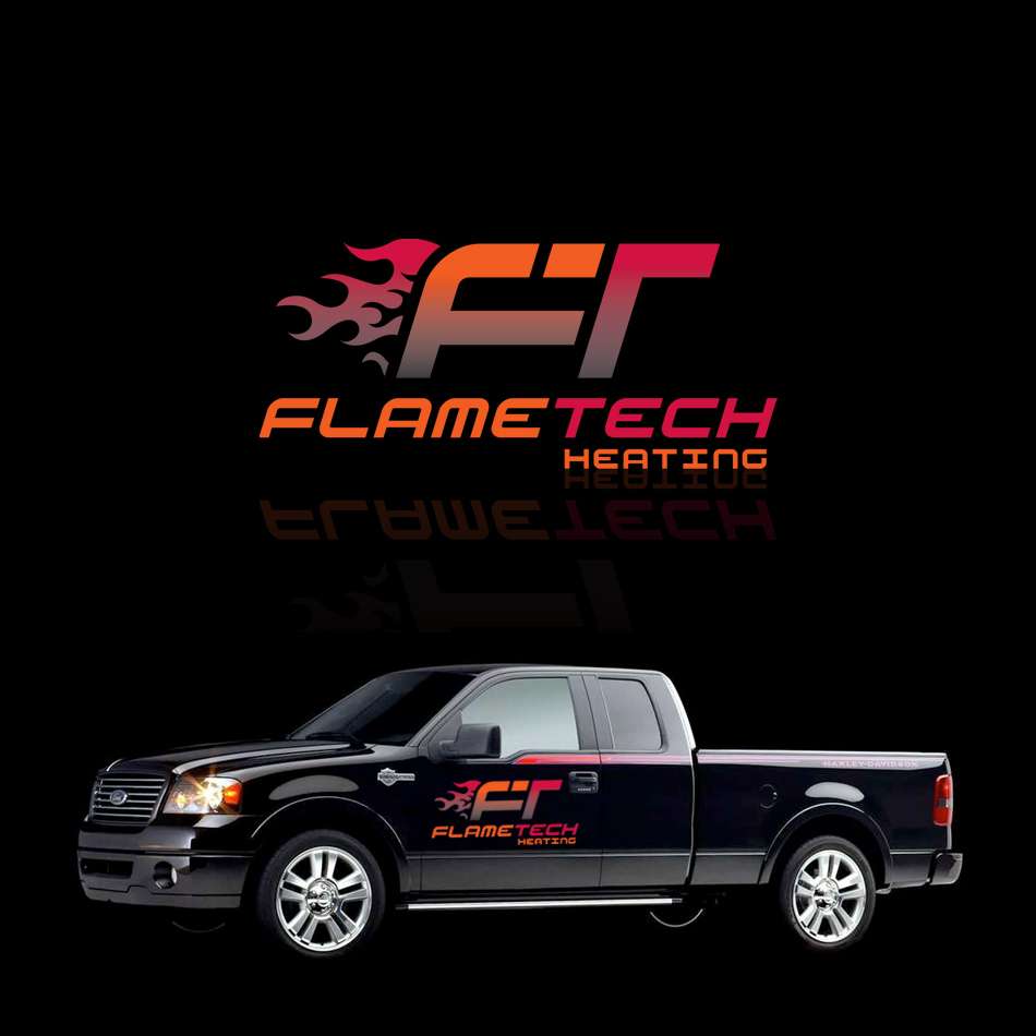 Logo Design by Spud9 - Entry No. 34 in the Logo Design Contest FlameTech Heating.