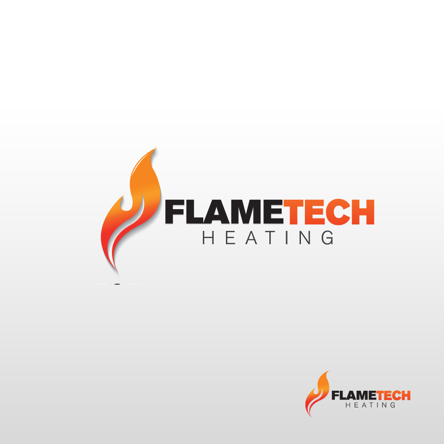 Logo Design by rockpinoy - Entry No. 39 in the Logo Design Contest FlameTech Heating.