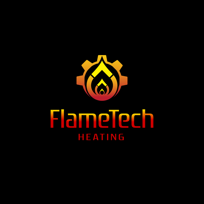 Logo Design by Laith Ibrahim - Entry No. 42 in the Logo Design Contest FlameTech Heating.