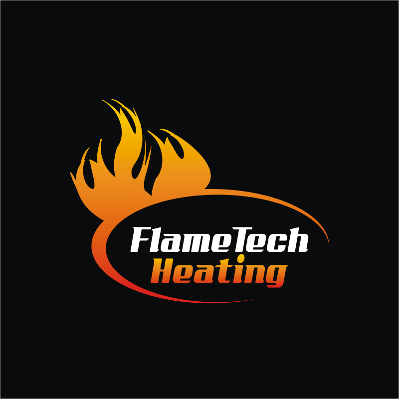 Logo Design by montoshlall - Entry No. 44 in the Logo Design Contest FlameTech Heating.