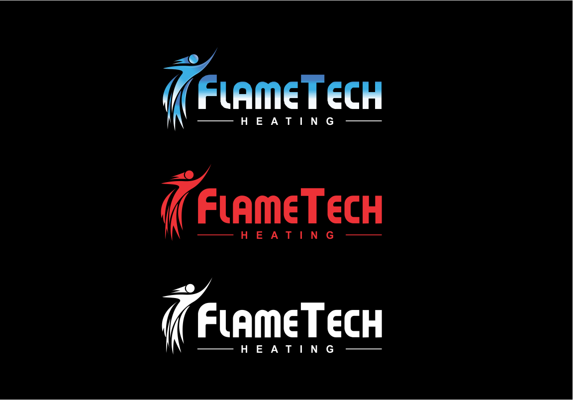 Logo Design by moisesf - Entry No. 48 in the Logo Design Contest FlameTech Heating.