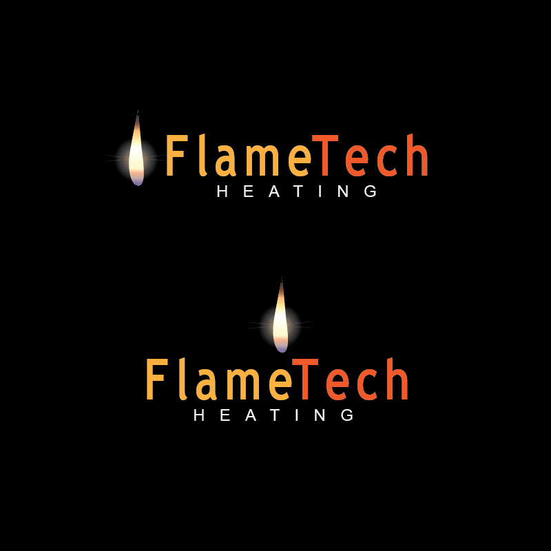 Logo Design by moisesf - Entry No. 49 in the Logo Design Contest FlameTech Heating.