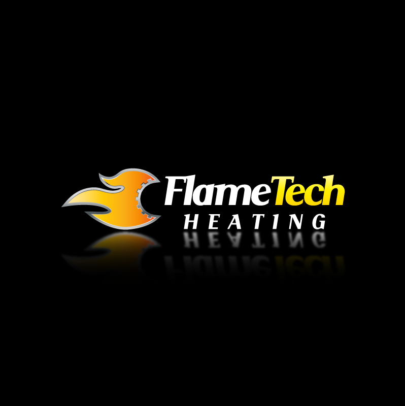 Logo Design by trav - Entry No. 54 in the Logo Design Contest FlameTech Heating.