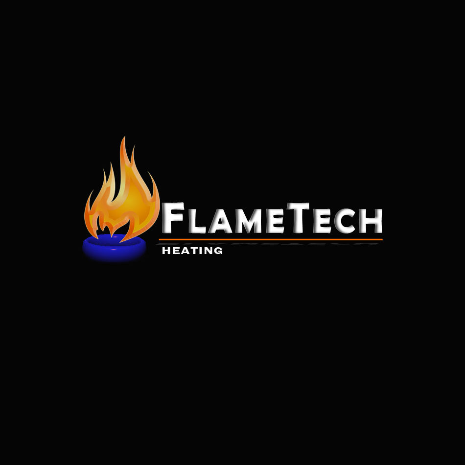 Logo Design by brandukar - Entry No. 58 in the Logo Design Contest FlameTech Heating.