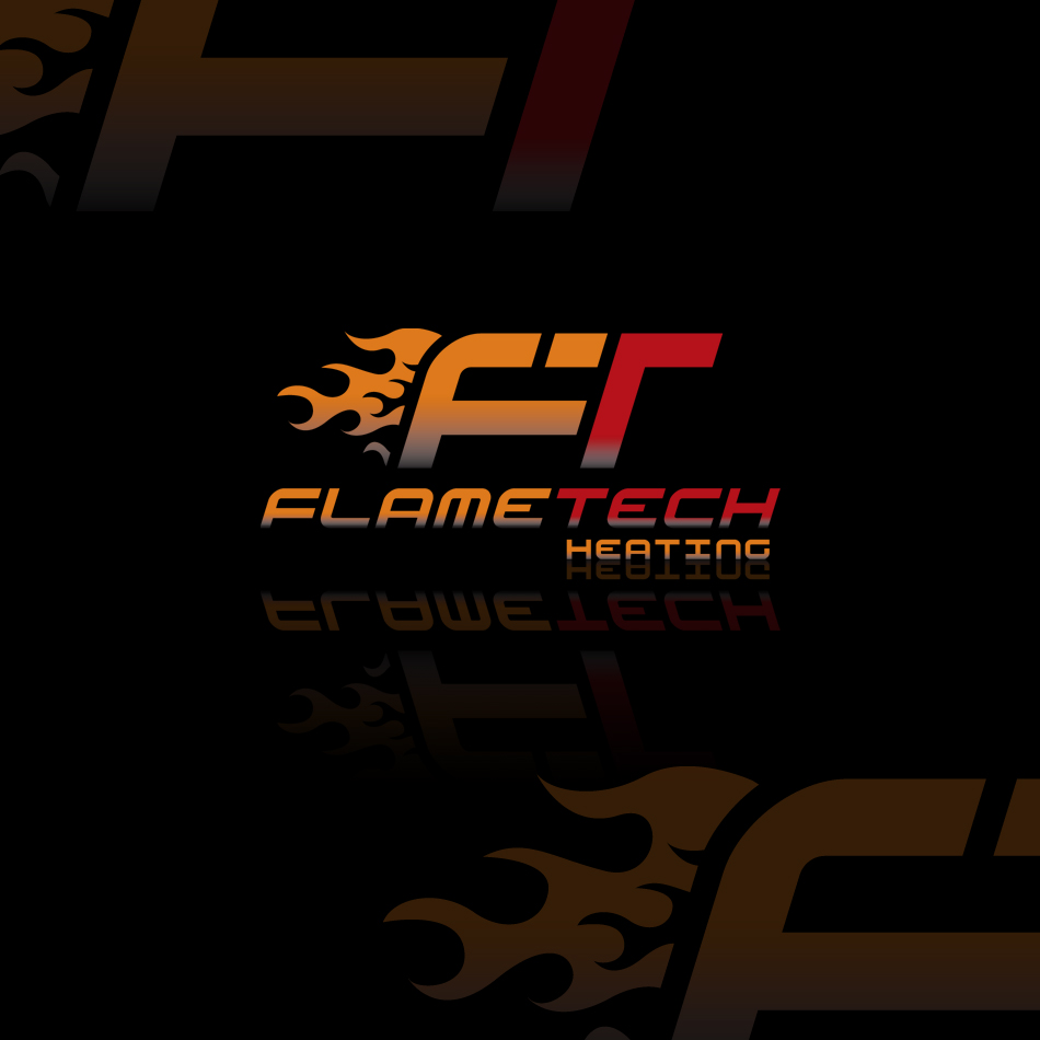 Logo Design by Spud9 - Entry No. 66 in the Logo Design Contest FlameTech Heating.