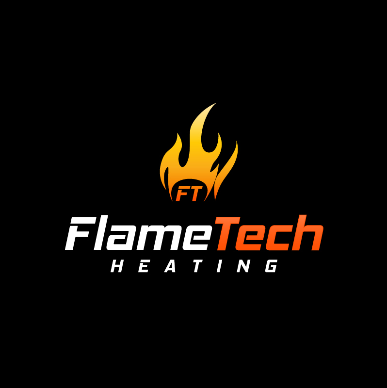 Logo Design by trav - Entry No. 67 in the Logo Design Contest FlameTech Heating.