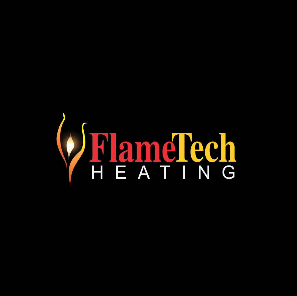 Logo Design by moisesf - Entry No. 68 in the Logo Design Contest FlameTech Heating.