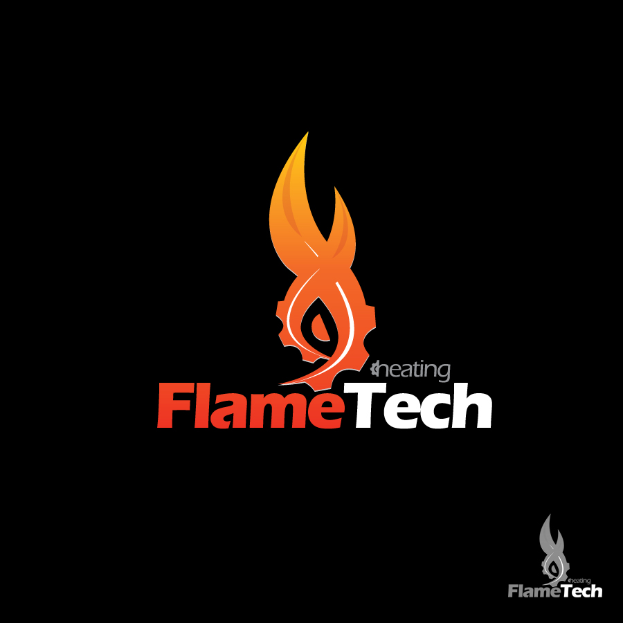 Logo Design by JoshuaCaleb - Entry No. 77 in the Logo Design Contest FlameTech Heating.