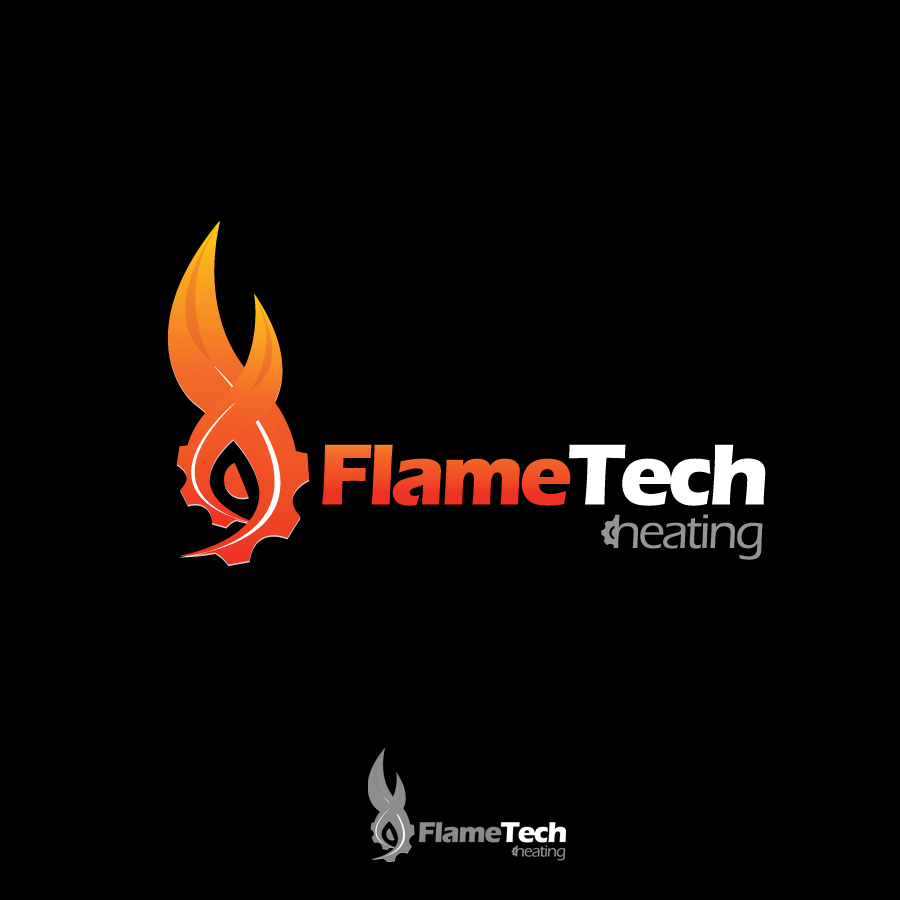 Logo Design by JoshuaCaleb - Entry No. 78 in the Logo Design Contest FlameTech Heating.