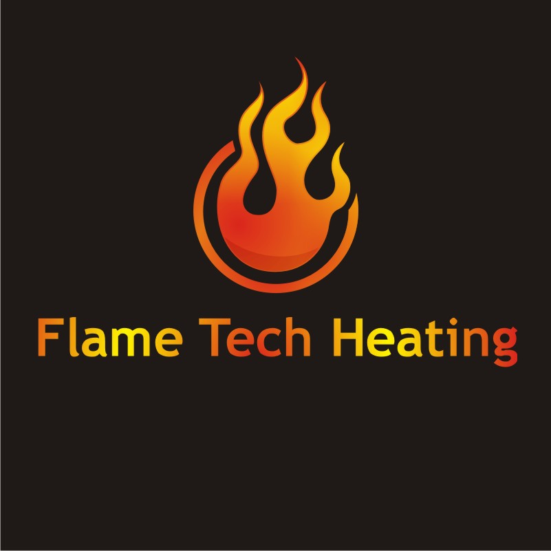 Logo Design by Private User - Entry No. 82 in the Logo Design Contest FlameTech Heating.