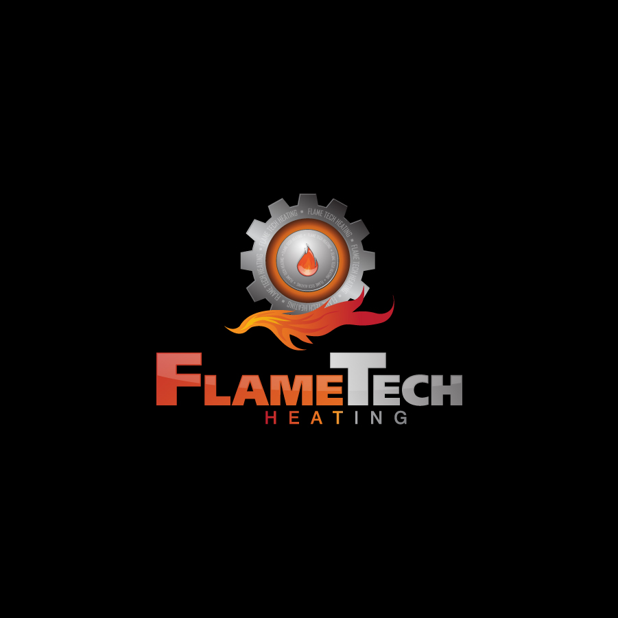 Logo Design by a-m-b-i-e-n-t - Entry No. 87 in the Logo Design Contest FlameTech Heating.