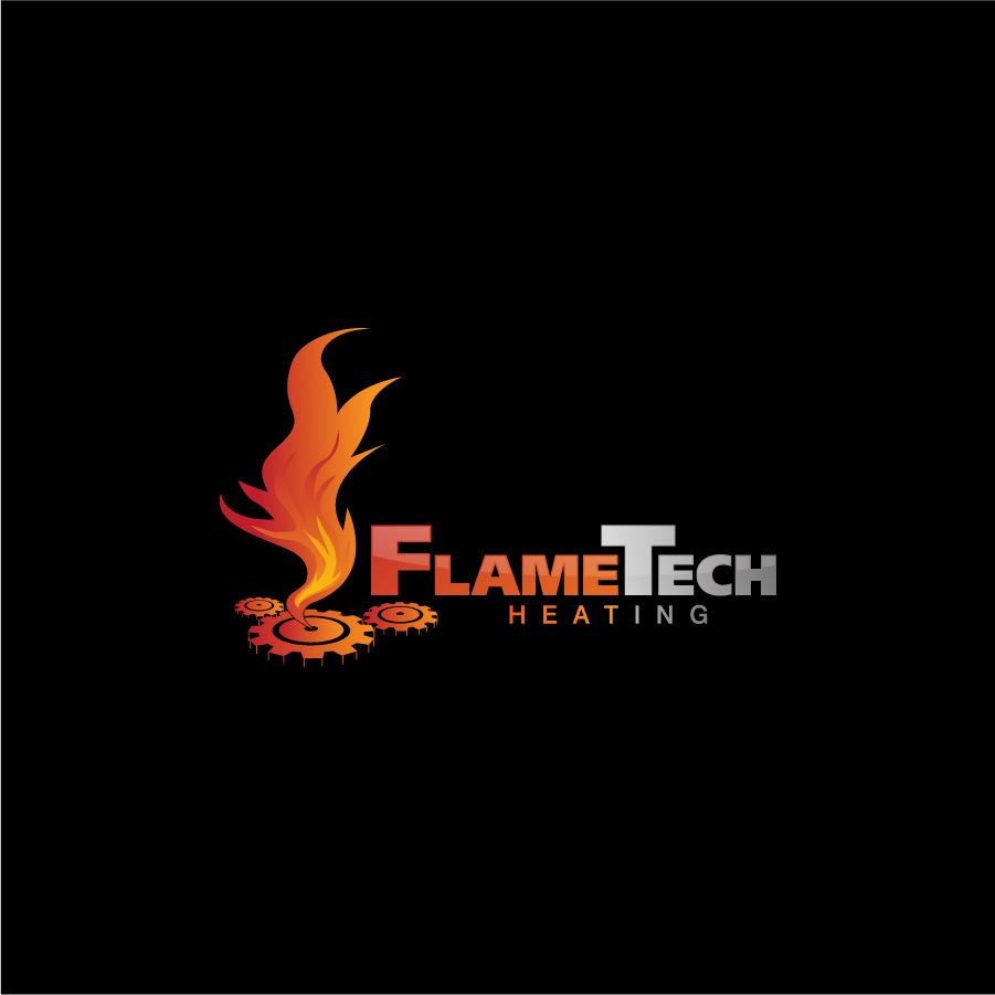 Logo Design by a-m-b-i-e-n-t - Entry No. 90 in the Logo Design Contest FlameTech Heating.