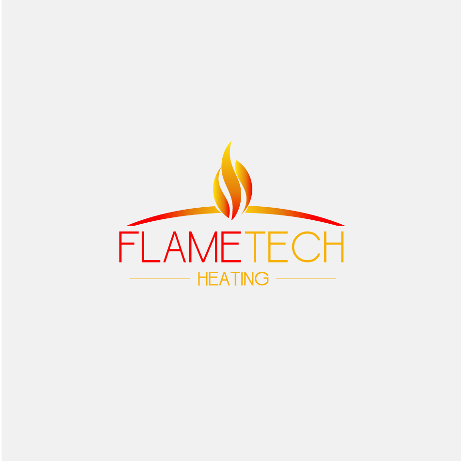 Logo Design by moonflower - Entry No. 104 in the Logo Design Contest FlameTech Heating.
