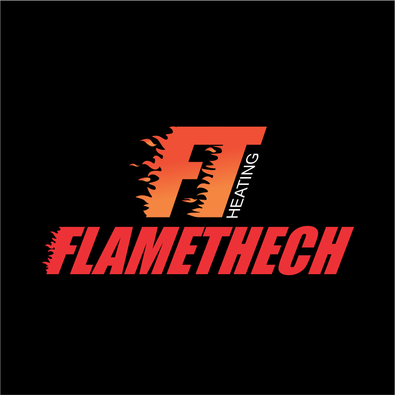 Logo Design by moisesf - Entry No. 105 in the Logo Design Contest FlameTech Heating.