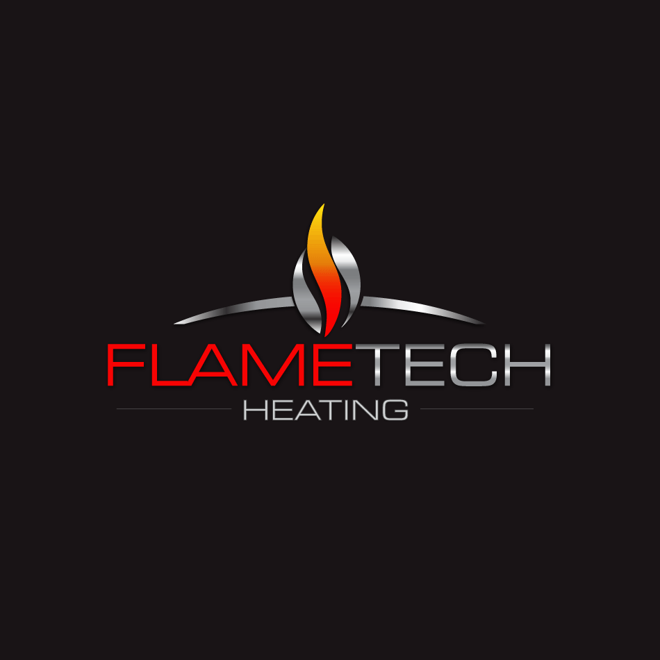 Logo Design by moonflower - Entry No. 115 in the Logo Design Contest FlameTech Heating.