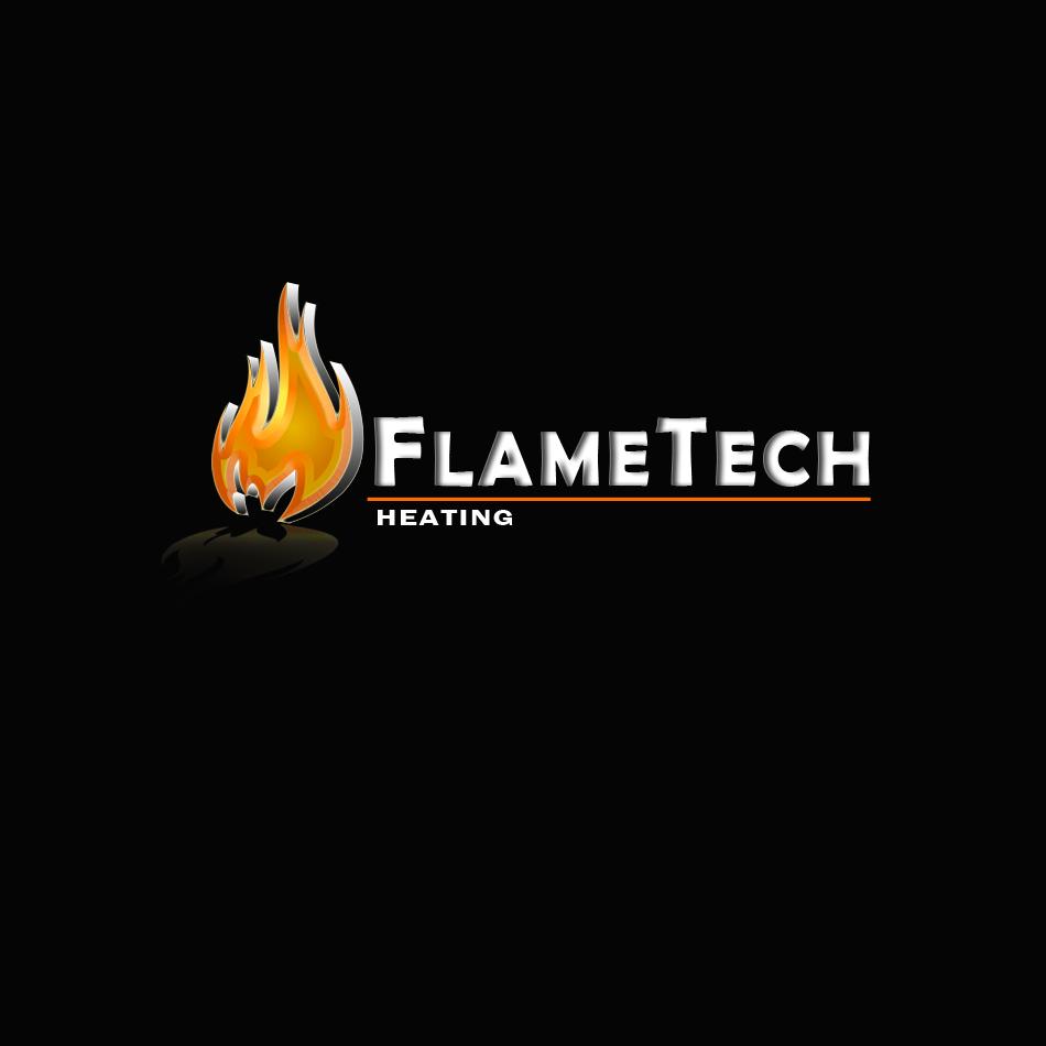 Logo Design by brandukar - Entry No. 116 in the Logo Design Contest FlameTech Heating.