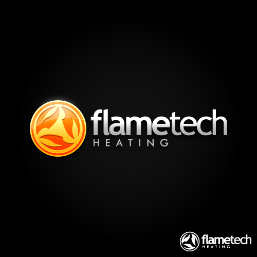 Logo Design by SilverEagle - Entry No. 120 in the Logo Design Contest FlameTech Heating.