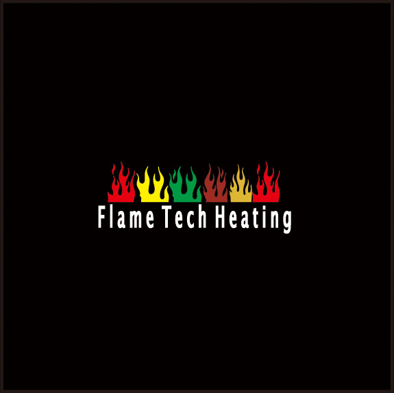 Logo Design by ban - Entry No. 122 in the Logo Design Contest FlameTech Heating.