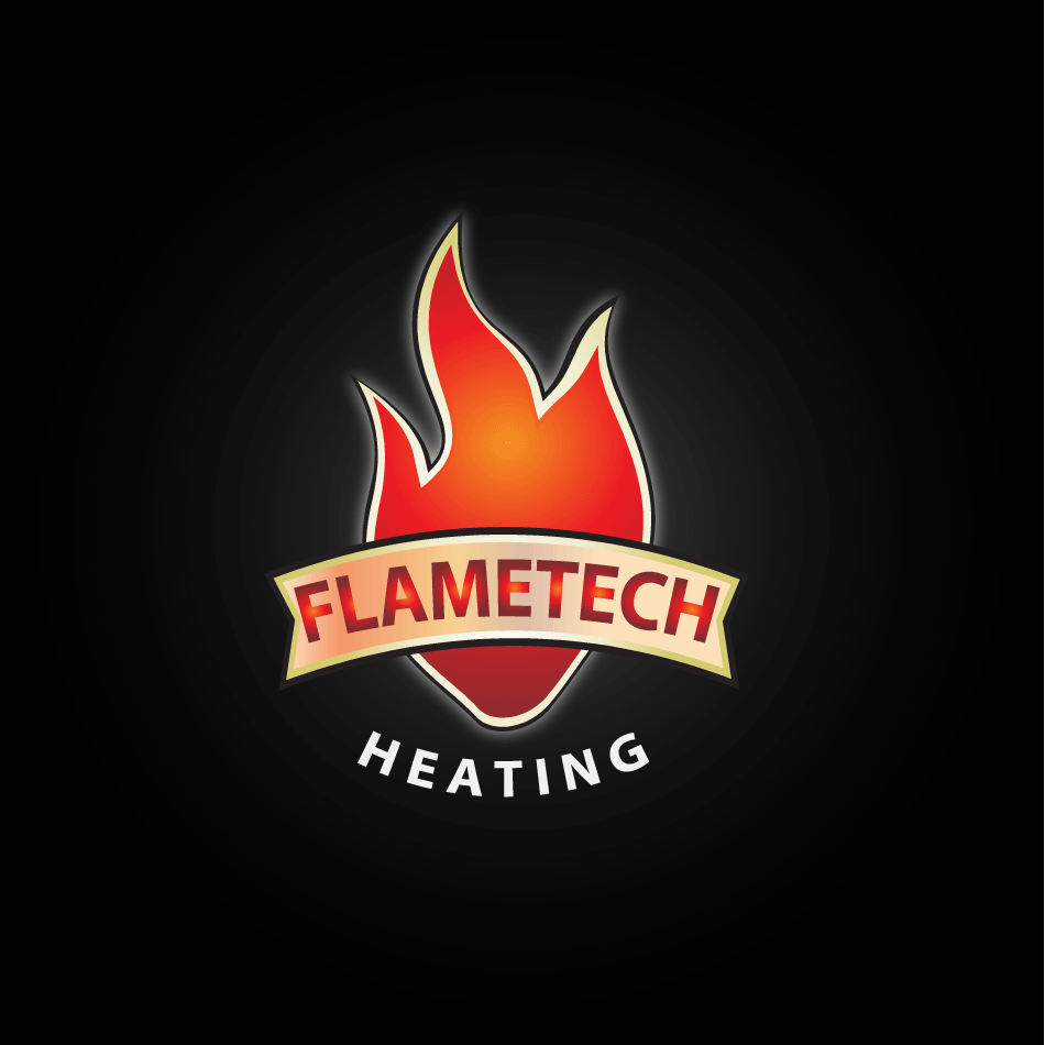 Logo Design by moonflower - Entry No. 125 in the Logo Design Contest FlameTech Heating.