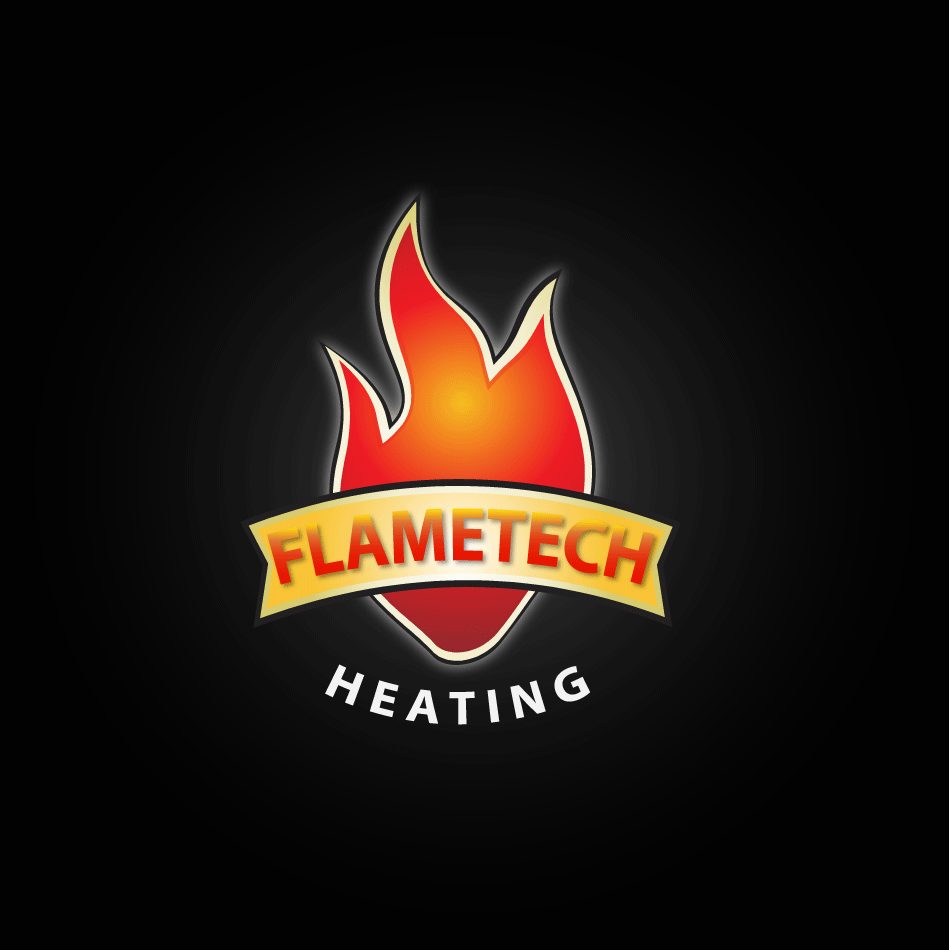 Logo Design by moonflower - Entry No. 126 in the Logo Design Contest FlameTech Heating.