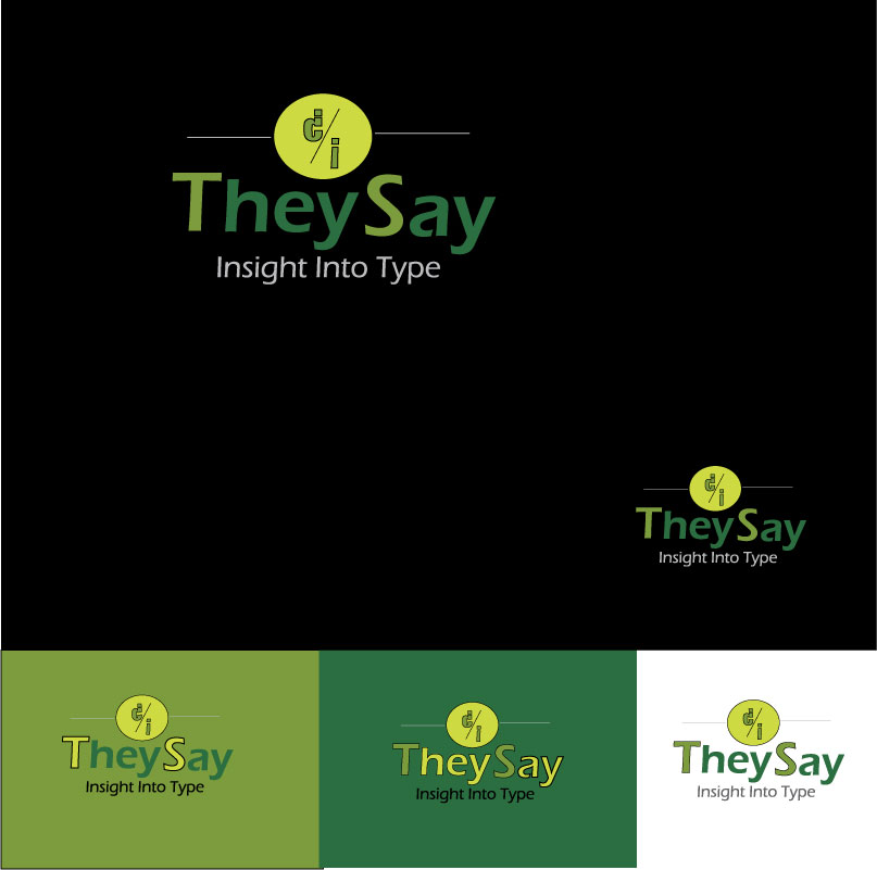 Logo Design by designabby - Entry No. 43 in the Logo Design Contest TheySay - Insight Into Text.