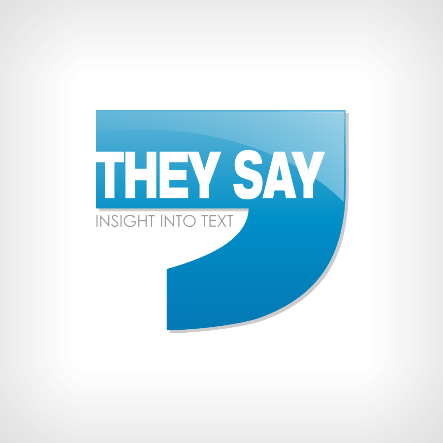 Logo Design by JoshuaCaleb - Entry No. 59 in the Logo Design Contest TheySay - Insight Into Text.