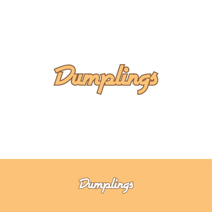 Logo Design by Alpar David - Entry No. 4 in the Logo Design Contest Dumplings.
