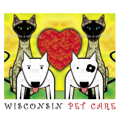 Logo Design by laertis - Entry No. 195 in the Logo Design Contest Wisconsin Pet Care.