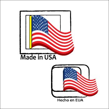 Logo Design by Saunter - Entry No. 3 in the Logo Design Contest Made in USA / Hecho en EUA.
