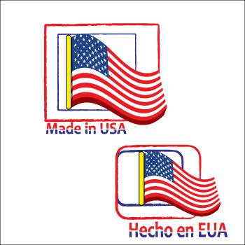 Logo Design by Saunter - Entry No. 4 in the Logo Design Contest Made in USA / Hecho en EUA.