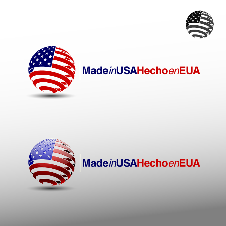 Logo Design by zesthar - Entry No. 14 in the Logo Design Contest Made in USA / Hecho en EUA.