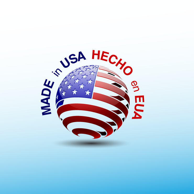 Logo Design by zesthar - Entry No. 15 in the Logo Design Contest Made in USA / Hecho en EUA.