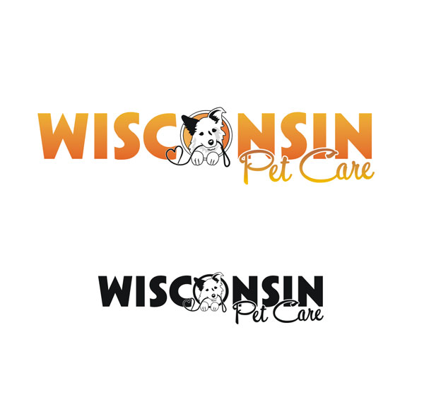 Logo Design by Junbug - Entry No. 202 in the Logo Design Contest Wisconsin Pet Care.