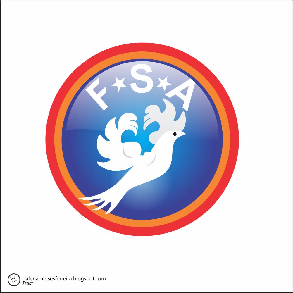 Logo Design by moisesf - Entry No. 4 in the Logo Design Contest Fellowship Sports Association Logo Design Contest.